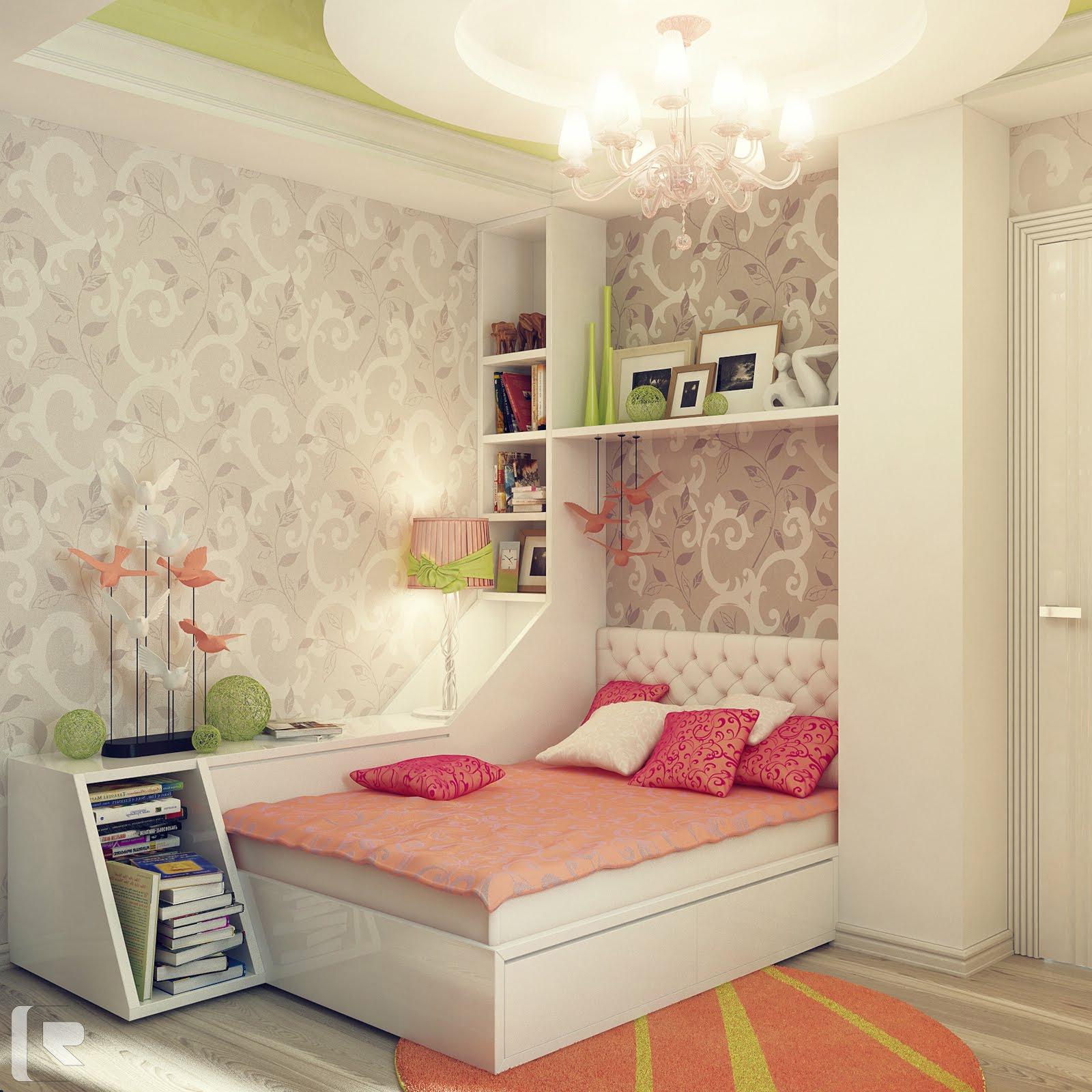 Подростковые комнаты для девочек дизайн интерьера фото
