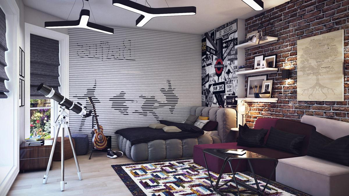 подростковая комната интерьер