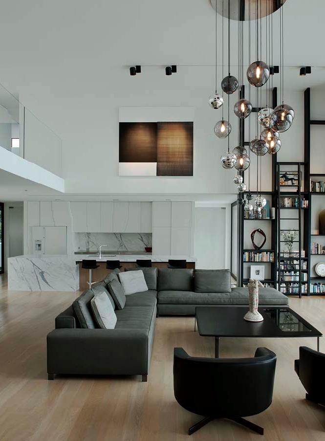 Gray-L-shaped-sofa