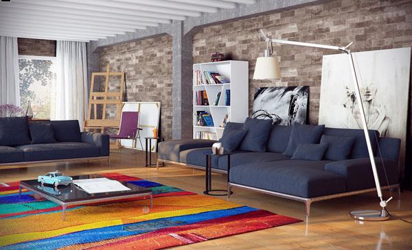 city-loft-decor-ideas