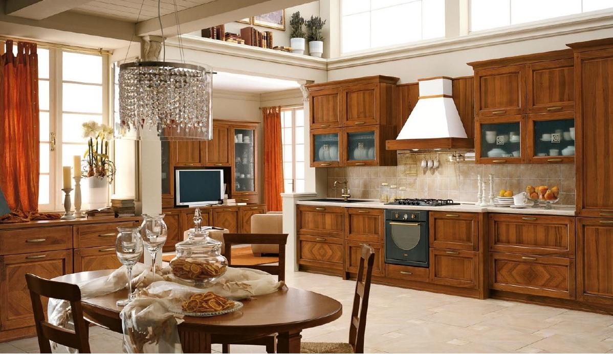 кухня класска фото