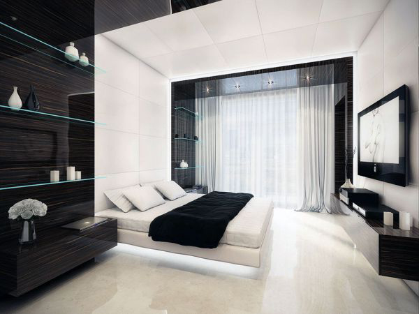 geometry-black-and-white-bedroom-decoration1