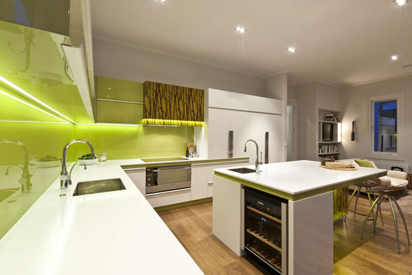 green-and-white-modern-kitchen-2