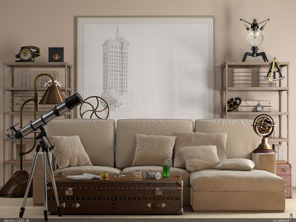 neutral-beige-velvet-sofa