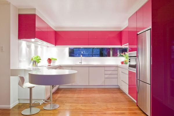 pink-modern-kitchen