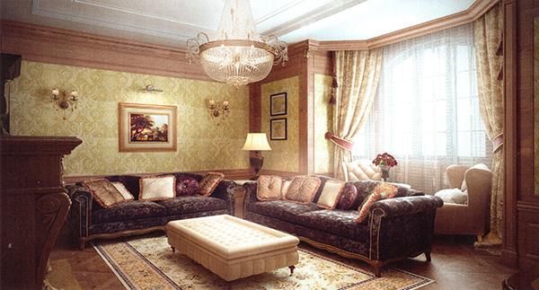 интерьер гостиной