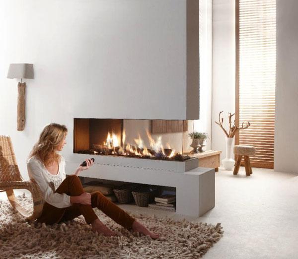 Contemporary-dual-aspect-fireplace