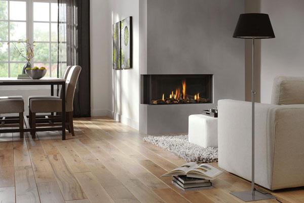 Gray-white-living-room-diner-fireplace