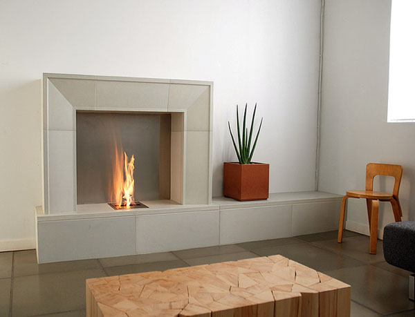 Modern-electric-fireplace-grey-stone