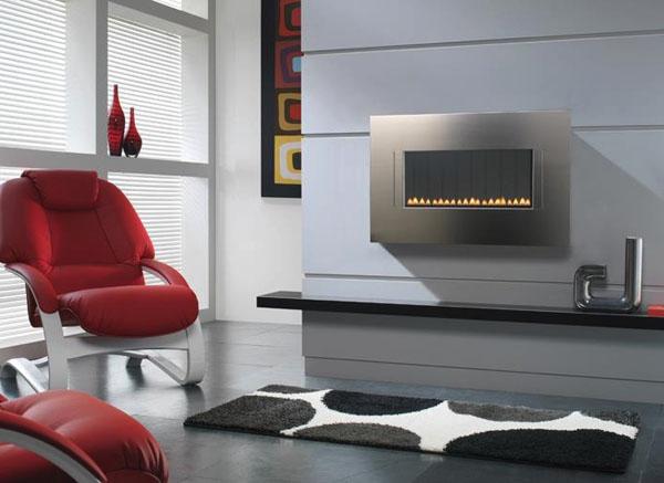 Modern-metallic-fireplace