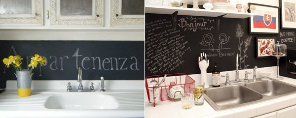 black-board-backsplash