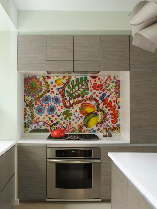 multicolored-mosaic-backsplash