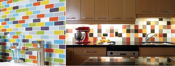 mutlitcolored-subway-tile-backsplash