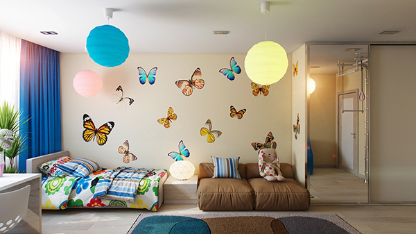 10-Butterfly-theme-bedroom