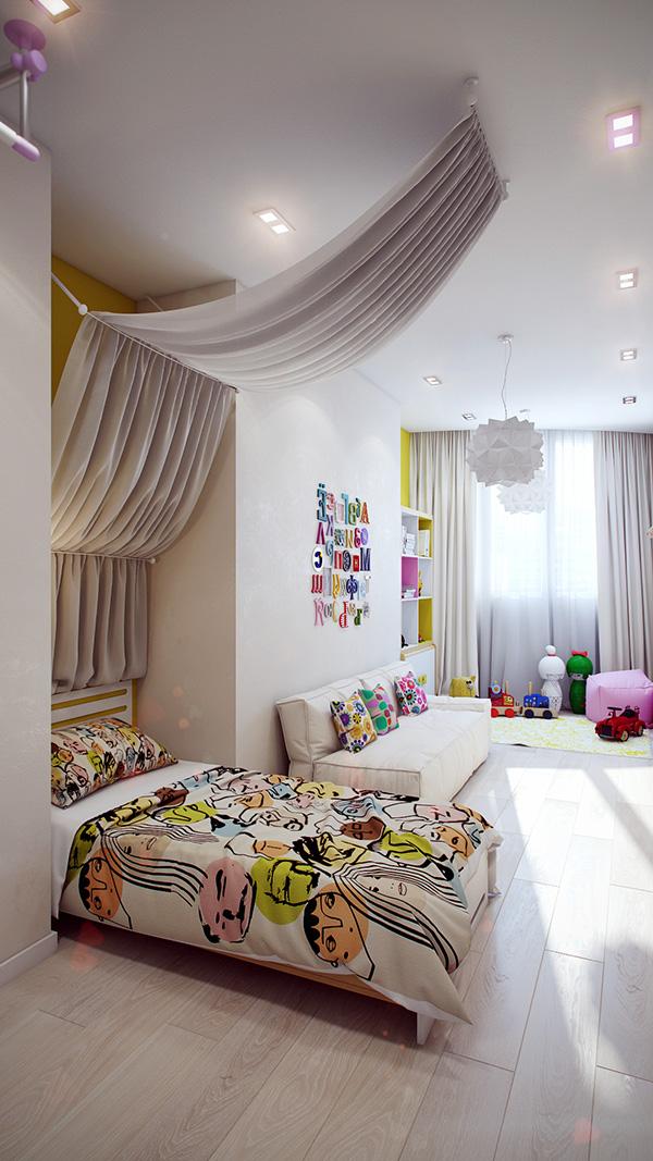 13-Modern-white-kids-room