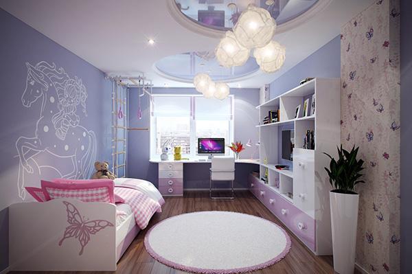 2-Purple-pink-kids-room