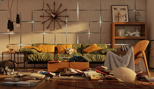 Backlit-contemporary-living-room
