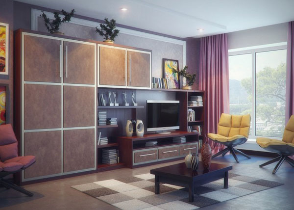 Brown-purple-yellow-living-room-665x474