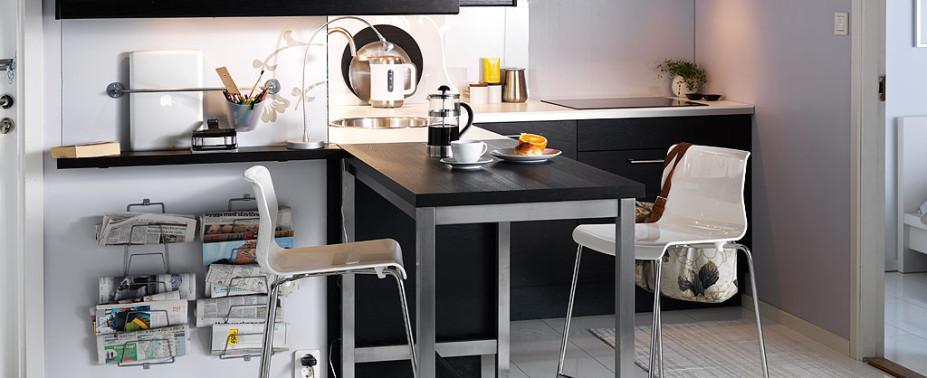 Превращаем маленькую кухню в большую