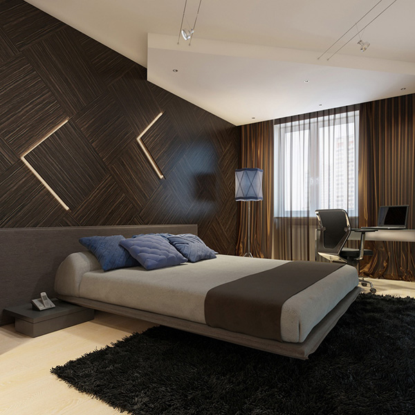 Modern-wooden-wall-paneling