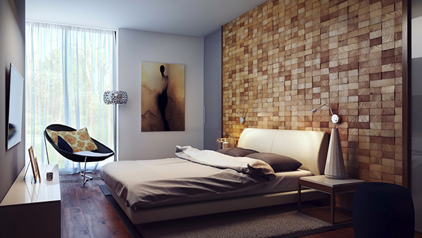 Wood-block-headboard-wall