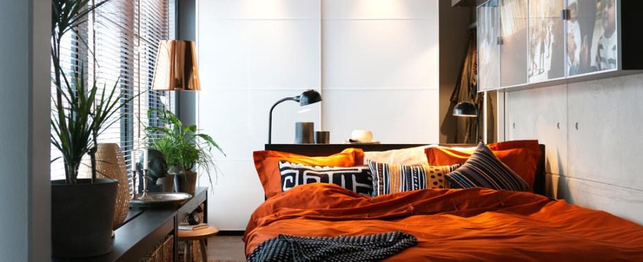 Делаем маленькую спальню уютным местом для отдыха