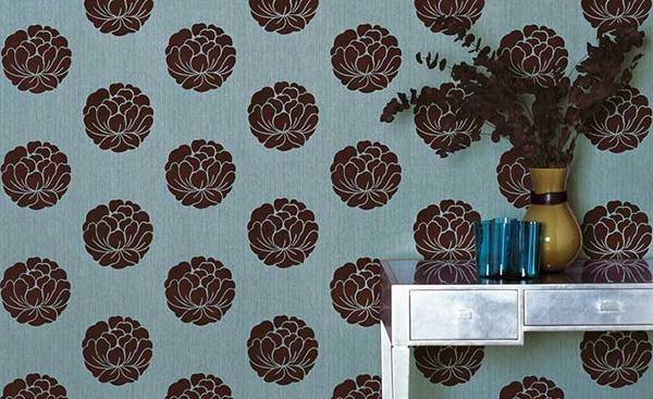 red-flower-modern-wallpaper-interior-design-photo