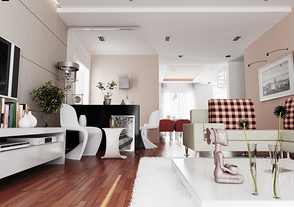 sophisticated-pink-living-room