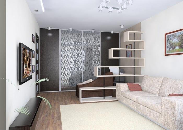 обои фото для однокомнатной квартиры фото