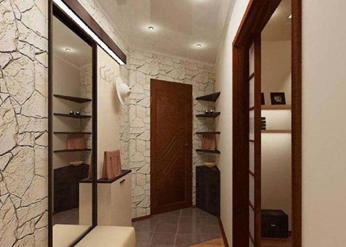 Дизайн маленькой прихожей и коридора в квартире фото