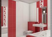 Кафель в ванной — дизайн