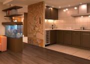 Кухня — гостиная (интерьер)