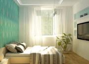 Интерьер спальни в «хрущевке»