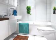 Белая ванная комната — дизайн