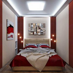 Делаем удобной маленькую спальню