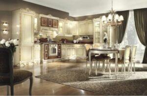 Стиль и дизайн кухни: хай-тек, техно и барокко